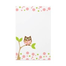 Owls stationery and templates site!