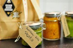 DIY Last Minute Geschenke für Weihnachten: Selbstgemachtes Pesto