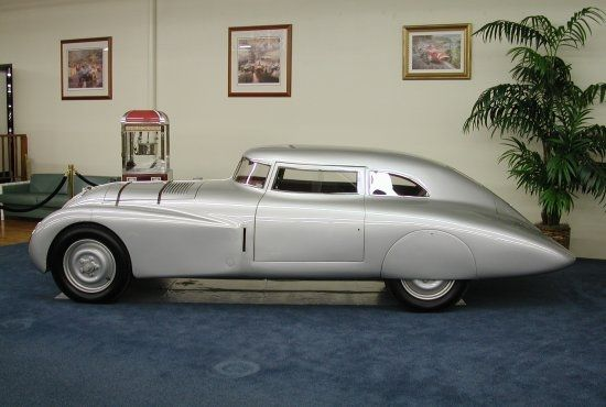 1937 Adler Rennlimousine Competition Coupe silver