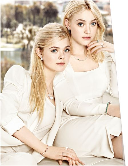 Dakota and Elle Fanning. Wahouuuu, so beautiful !!!