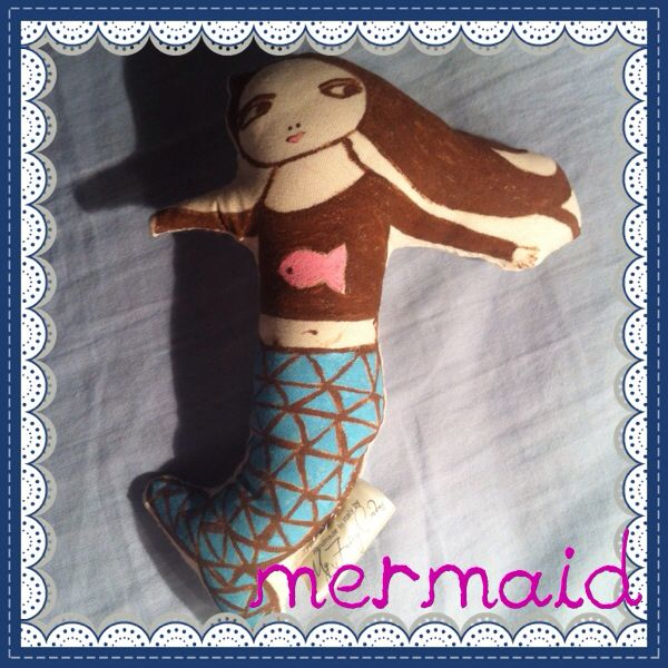 Adopt your own Mermaid! Hand painted and sewn by My Fairy Cakes  Please visit My Facebook page My Fairy Cakes