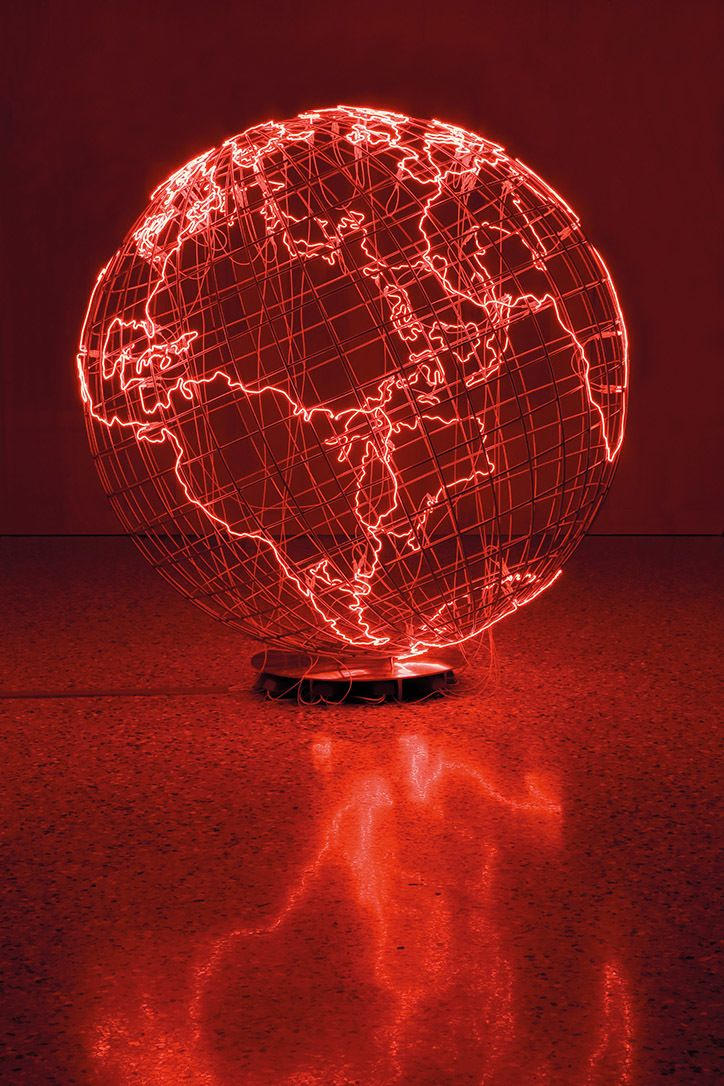 Artist Mona Hatoum electrifies the senses in her first retrospective at the Tate Modern.