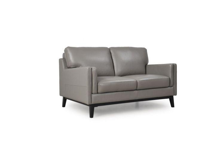 Osman Top Grain Leather Loveseat 35202M/S1309