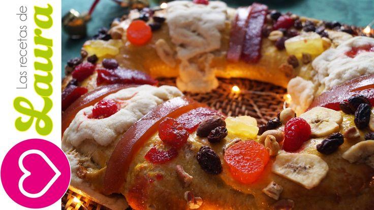 Rosca de Reyes ¡Integral! Rellena de pie de Manzana♥Recetas Saludables♥Historia de la Rosca de Reyes