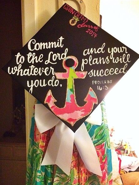 grad inspiration ♡ this will be on top of my cap.