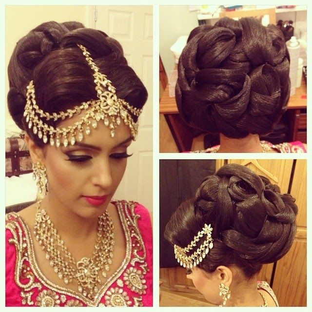 Aamir-Naveed-Bridal-Hairstyles-For-Wedding-Day