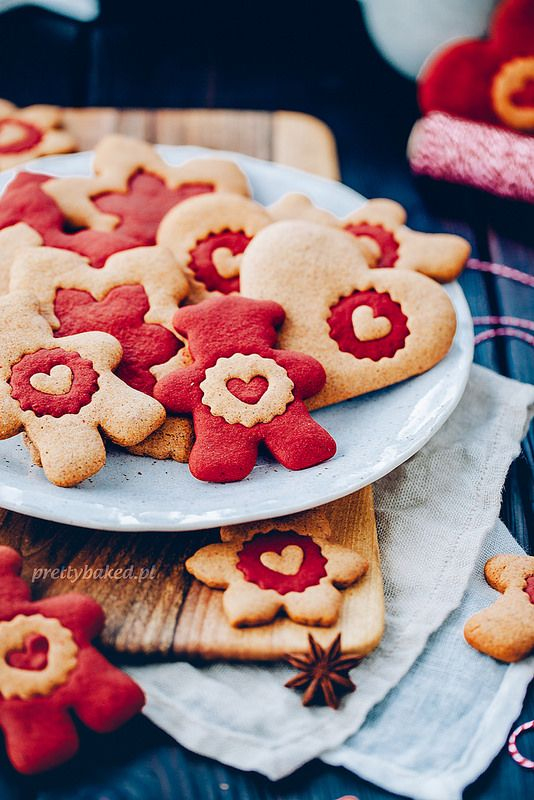 Bicolor gingerbreads / http://prettybaked.pl / http://facebook.com/prettybakedpl