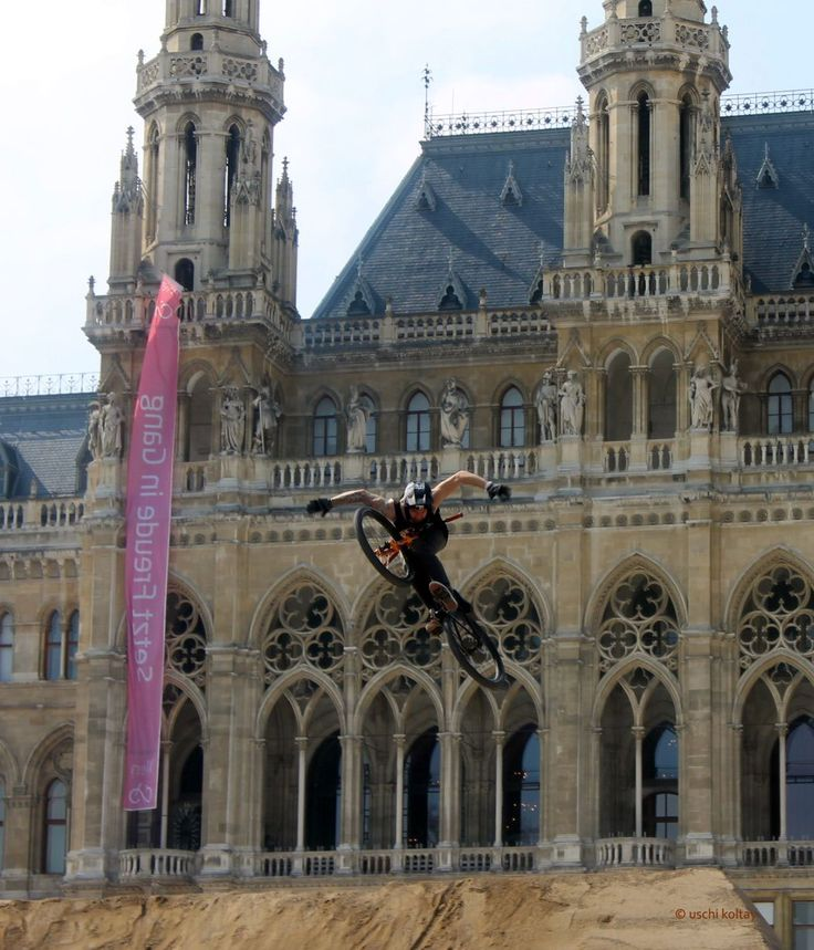 Bike Festival at the Rathaus platz