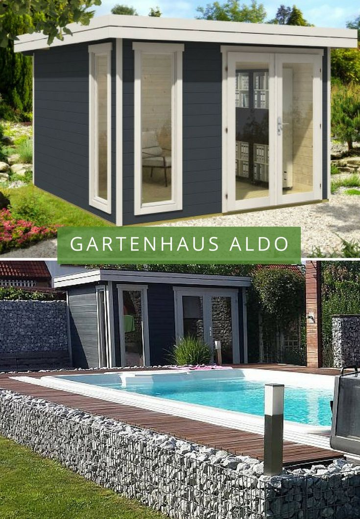 24 best Container Gartenhaus images on Pinterest | Container houses ...