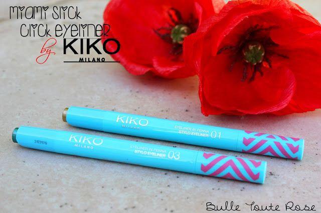 Une bulle toute Rose ! : Miami Slick Click Eyeliner, Kiko.