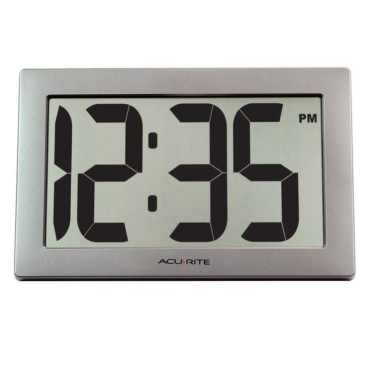 9.5 in. Large Digital Clock