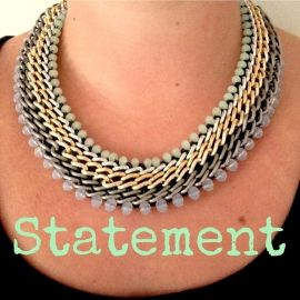 Big party chain Necklace