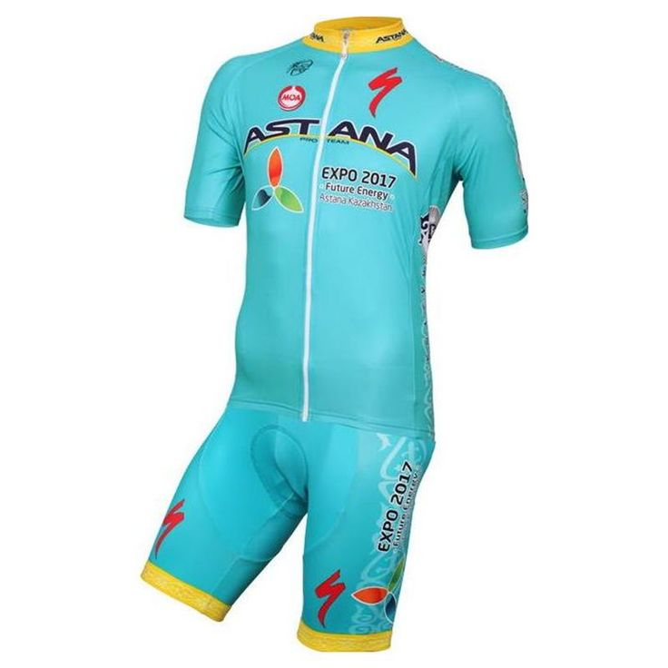 Nalini Astana Blue Team kit The Nalini Astana Blue Team kit, with the design of the Astana team, is tough, comfortable and ensures an easy recovery.   This Jersey features the breathable fabric of microfiber Summertime Light, carrying moisture to the outside to keep the skin always dry. Its ergonomic cut adapts to the shape of the body to not notice that he wears and elastic waistband ensures a good fit of the garment. In addition, it has three back pockets.  #nalini #astanateam #retto