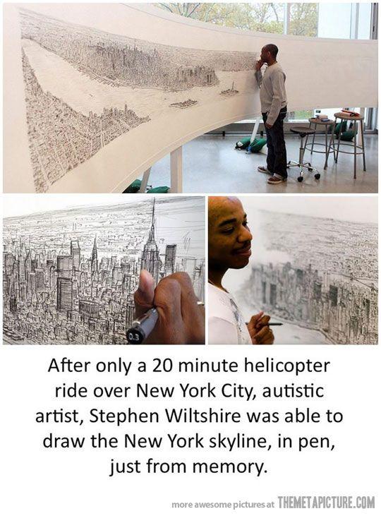 An amazing and inspiring artist…