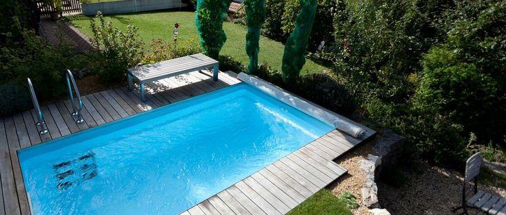 Les 25 meilleures id es concernant piscine coque sur pinterest piscine de plage piscine coque - Petit jardin cosmetic solution villeurbanne ...