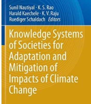 Knowledge Systems Of Societies For Adaptation And Mitigation Of Impacts Of Climate Change PDF