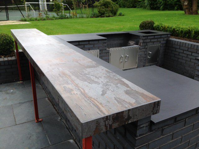Dekton Trilium  COSENTINO  Outdoor kitchen patio