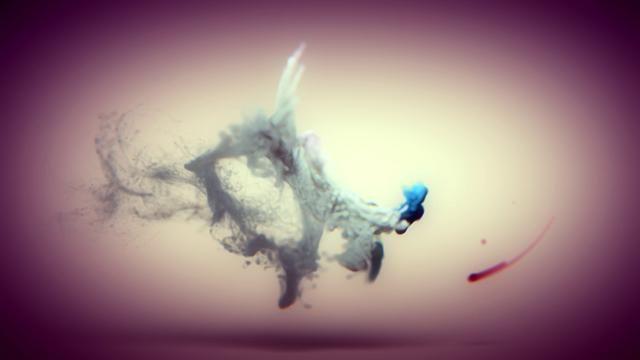 I love fluids and particle simulation.  Credit: Esteban Diácono