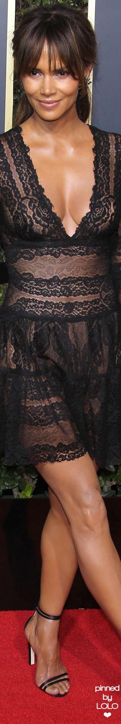 Halle Berry 2018 Golden Globes
