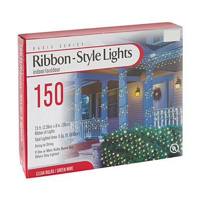 Marvelous Ribbon Style Lights, 150 Count At Big Lots. #Big Lots Good Ideas