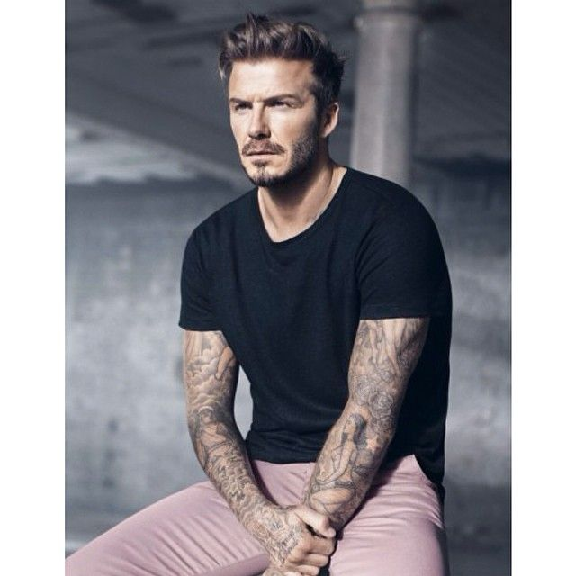 David Beckham for H&M Tattoos