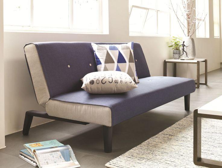 Oslo Sofa Bed - blue