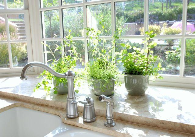 garden window and herbs sweet bg kitchen ideas pinterest gardens kitchen garden window. Black Bedroom Furniture Sets. Home Design Ideas
