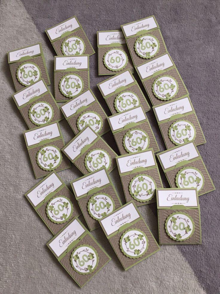 Einladung Diamantene Hochzeit | Stampinu0027 Up!   Sarahs Basteltraum |  Pinterest | Cards