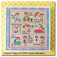 Gera! Kyoko Maruoka - Petite Clara (grille de broderie point de croix)