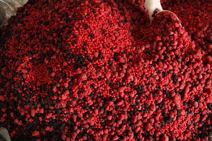 frozen mixed berries, frutti di bosco congelati
