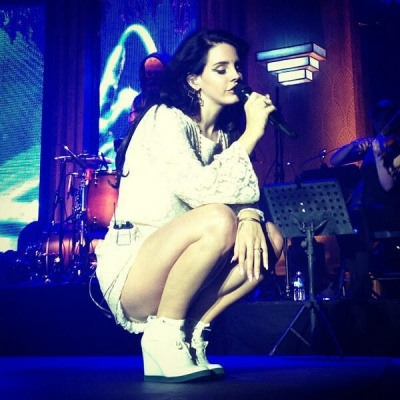 Lana Del Rey performs at Le Galaxie - Amneville, France, 3 April 2013.