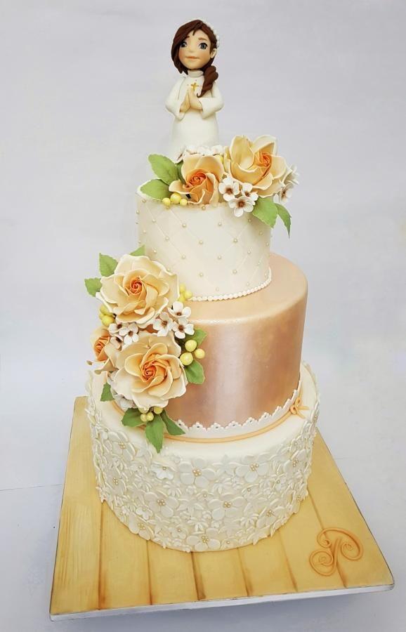 Cake First Communion  by Sabrina Di Clemente