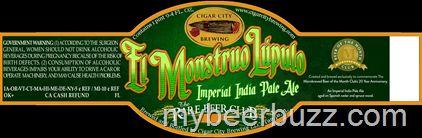 mybeerbuzz.com - Bringing Good Beers & Good People Together...: Cigar City / Rare Beer Club - El Monstruo Lupulo