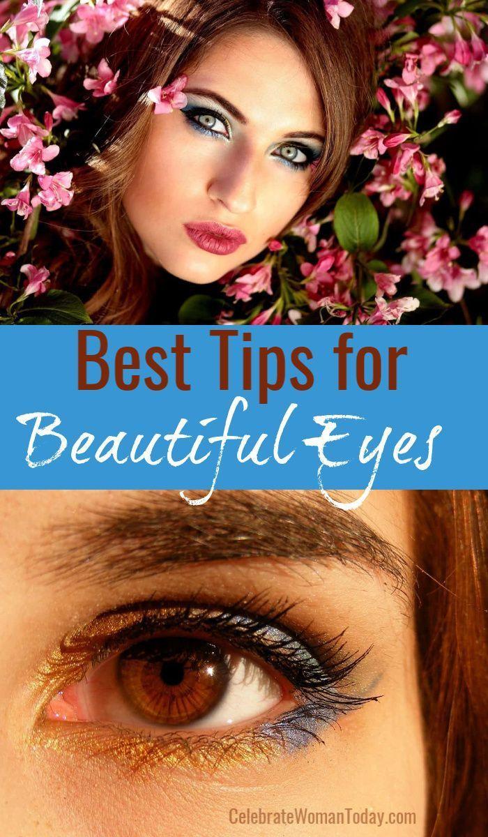 Tipps für schöne Augen gibt es nicht nur beim Schminken. Tägliche