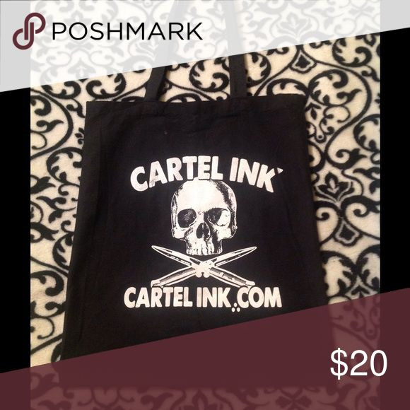 Cartel ink punk tattoo bag Reposting cartel ink tattoo punk bag Bags Totes
