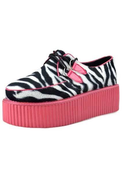 Pink Platform Shoes Sneakers