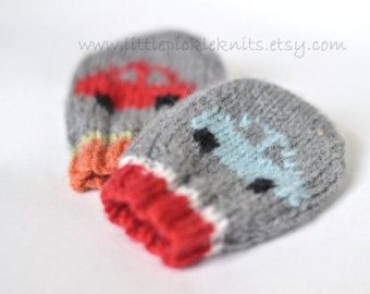 HANDMADE baby mittens Little Baa Baa by littlepickleknits on Etsy