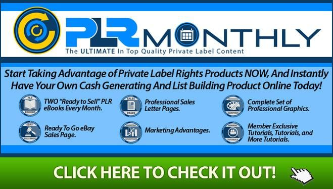 http://www.plrmonthly.info  That's Just Insane... Lifetime of Private Label Products... #plrmonthly #PLRS