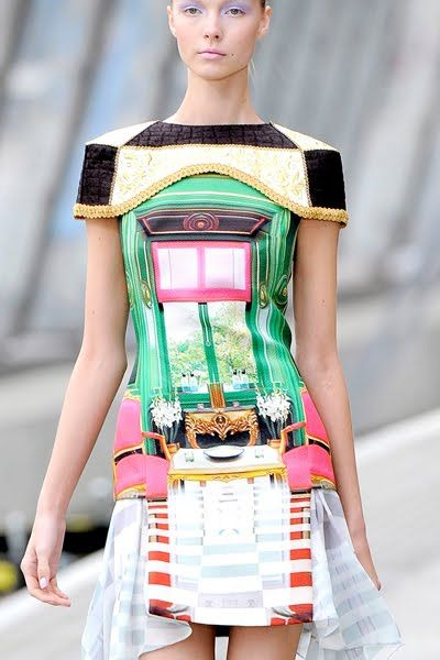 A Matter Of Style: DIY Fashion: Mary Katrantzou Spring 2011 Collection