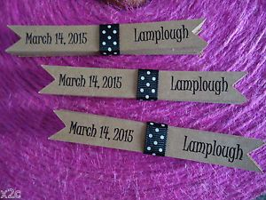 20 Flags Tags Personalised Wedding Birthday Party Flags FOR Straws OR Sparklers | eBay