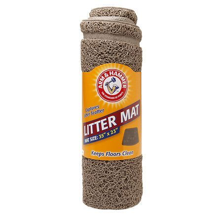 Arm & Hammer Litter Mat Wedge Paws 23in x 13in - 1 ea