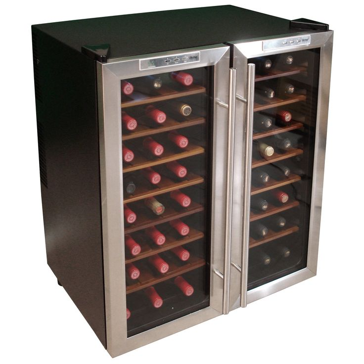 Have to have it. Vinotemp VT-48TEDS Stainless Door with ...