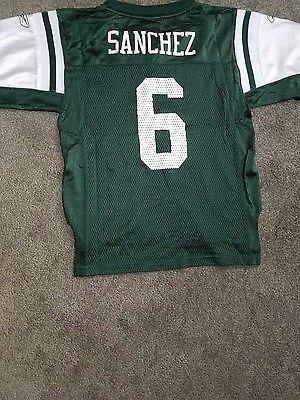 Mark Sanchez NY Jets Nylon Jersey Reebok Kids
