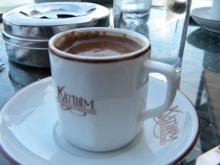 Real Turkish coffee in Istanbul