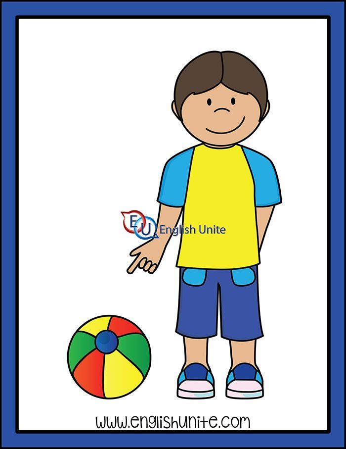 Pronoun That English Unite Clip Art White Image Kids Clipart