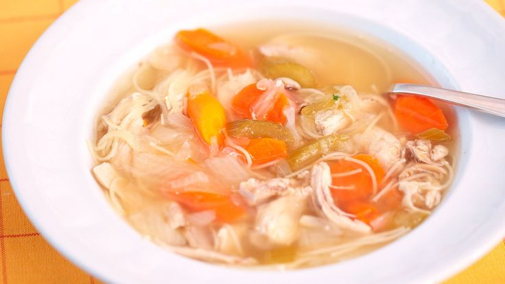 Watch Martha Stewart's One-Pot Chicken Noodle Soup Recipe Video. Get more step-by-step instructions and how to's from Martha Stewart.