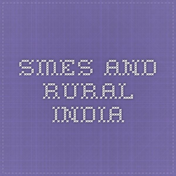 SMEs and Rural India
