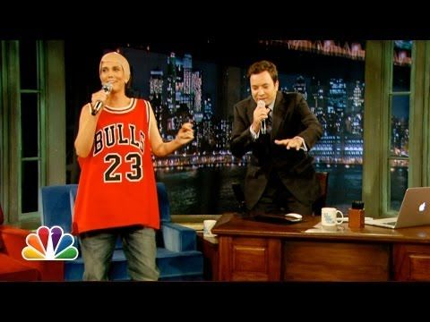Jimmy Fallon and Michael Jordan Sing (Late Night with Jimmy Fallon) - YouTube