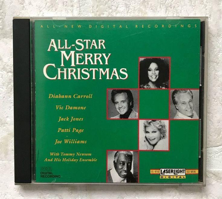 All-Star Merry Christmas CD Vic Damone Patti Page Joe Williams Jack Jones 1991 #Christmas