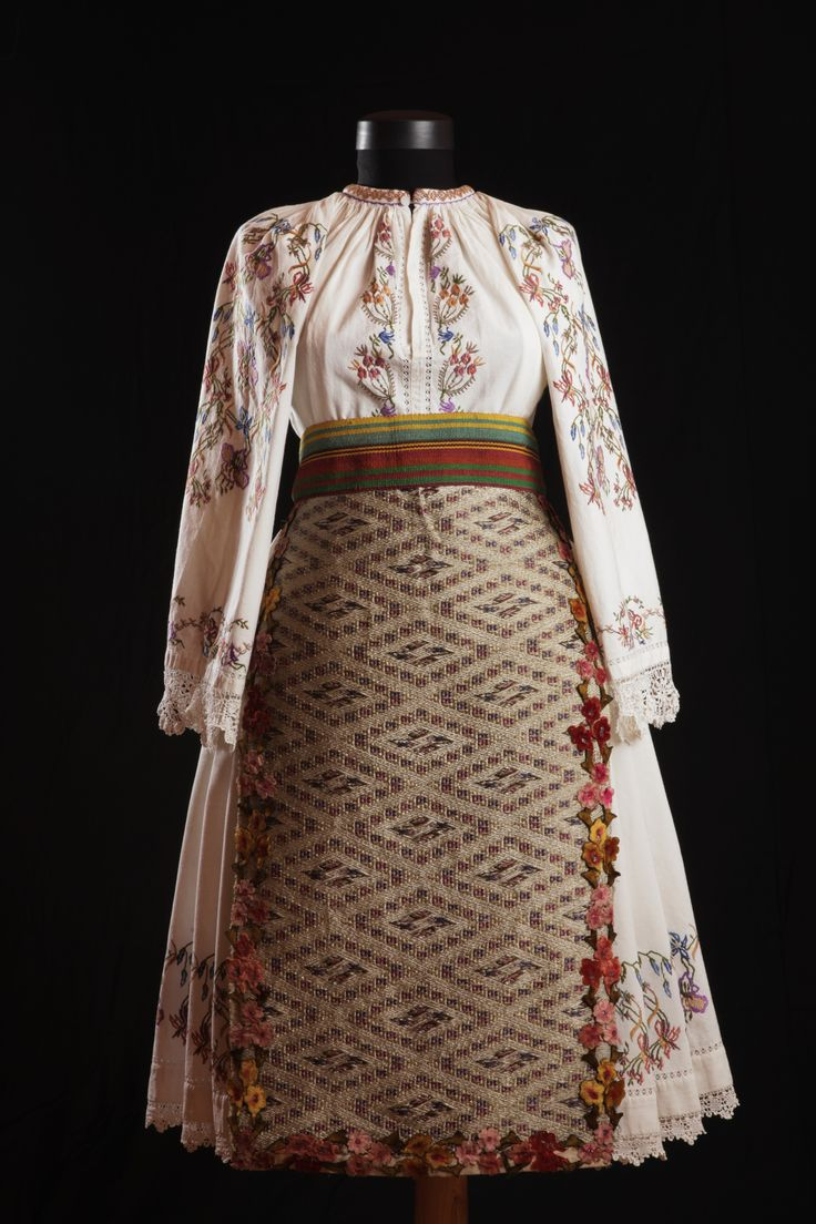 Festive garment from Romania, from Banat plain. Aprox. 1910     Visit us on Facebook page:  Colectia etnografica Marius Matei